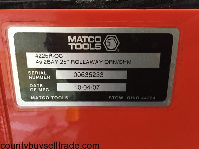 Matco Tool Box in ABBEVILLE, Vermilion, Louisiana - Aitkin